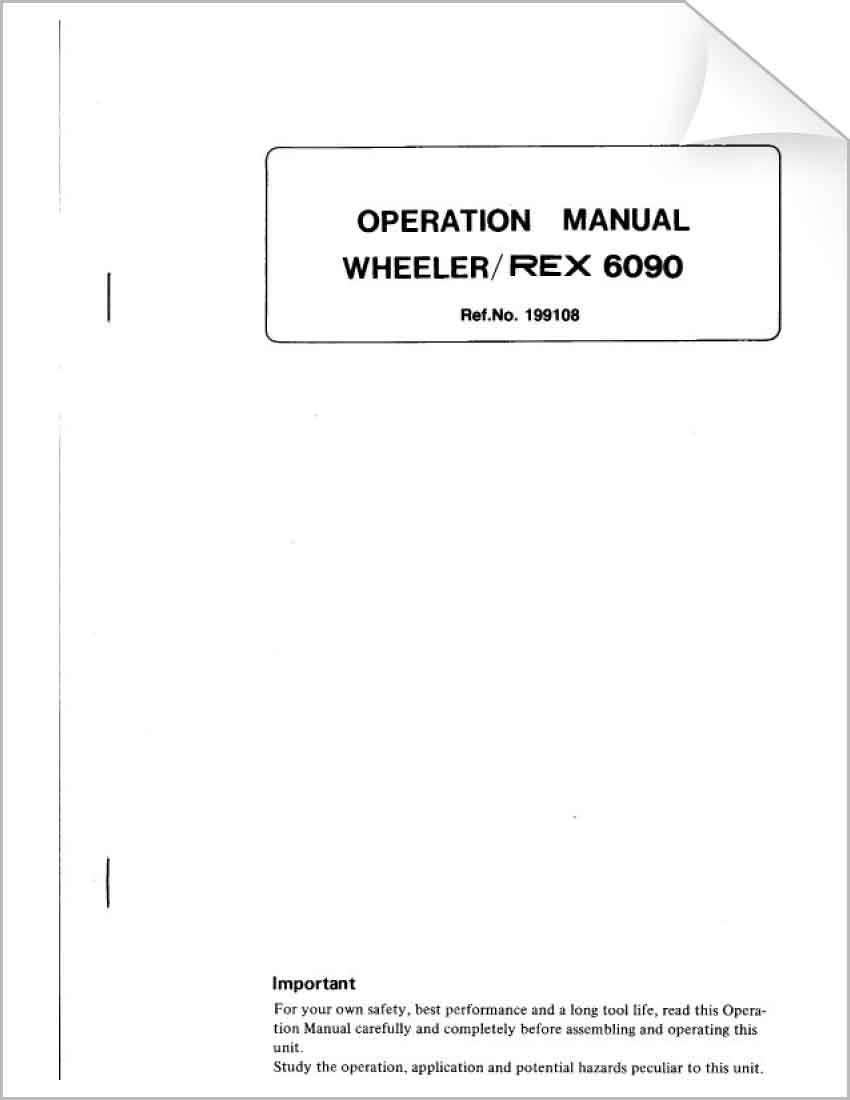 Download Our Tool Diagrams Wheeler Rex Pig Pork Cuts Diagram Free Image About Wiring And Schematic 6090 Operation Manual