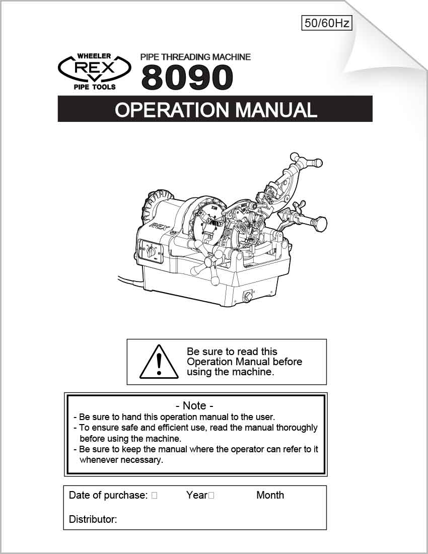 Download Our Tool Diagrams Wheeler Rex Thread How To Read Wiring 8090 Operation Booklet