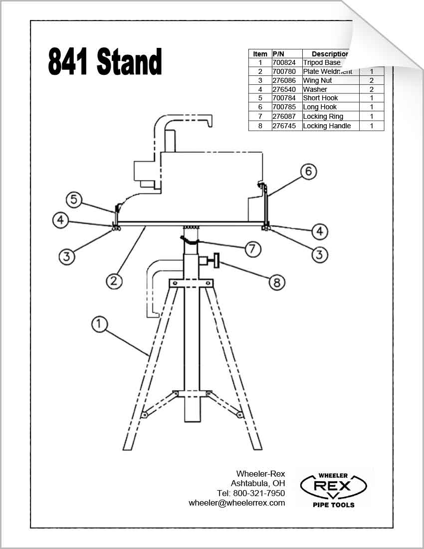 Download Our Tool Diagrams Wheeler Rex Piping Schematic Drawing 841 Parts